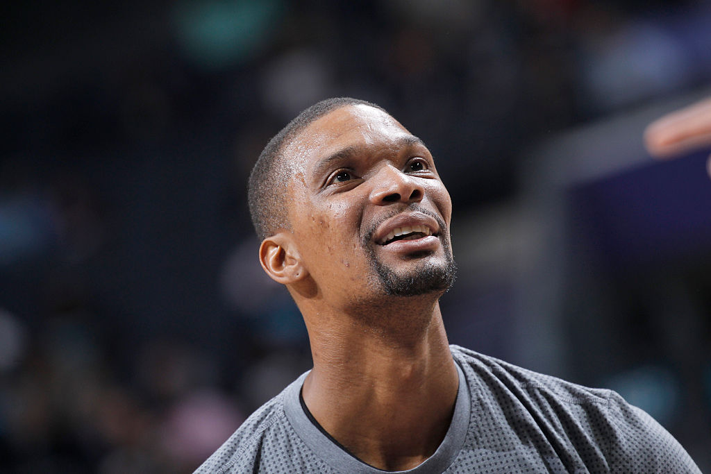 Former NBA player Chris Bosh