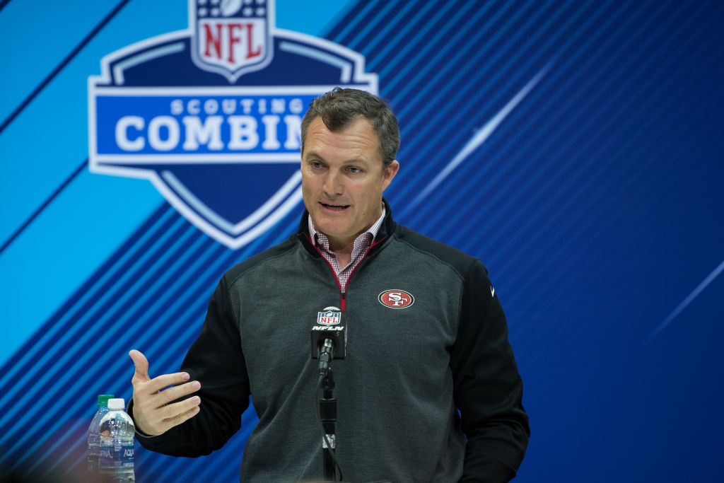General manager John Lynch and the 49ers were fairly quiet in NFL free agency.