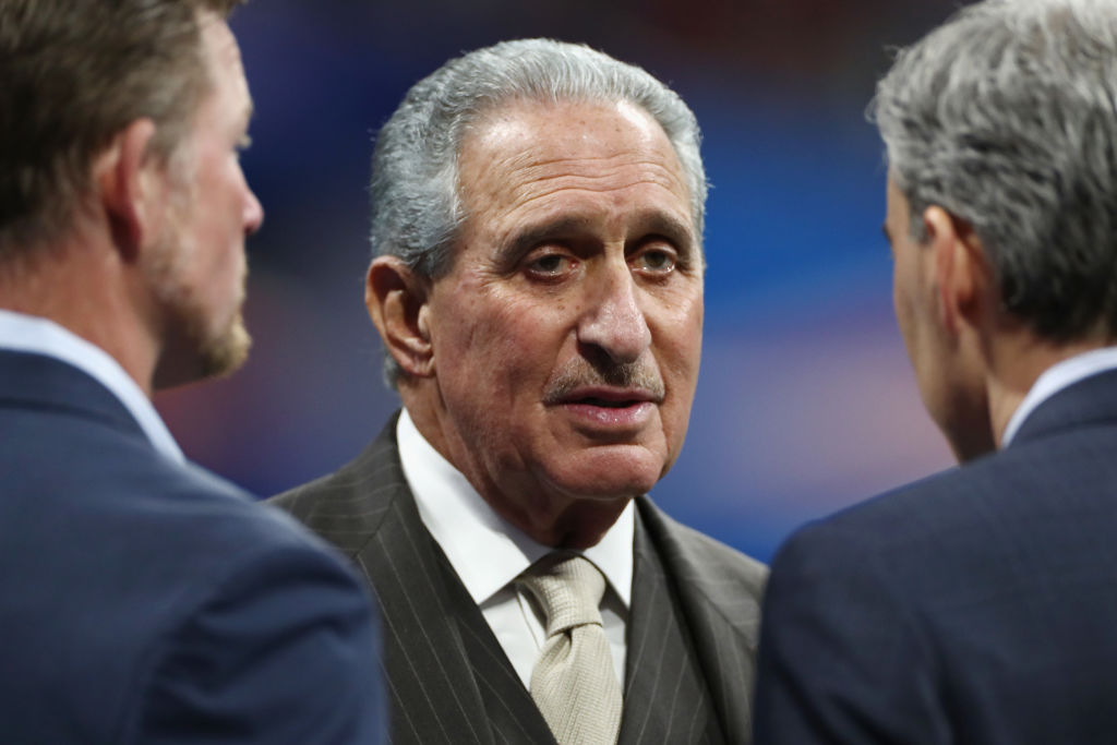 Arthur Blank's Atlanta Falcons are valuable, but not the most valuable team in the NFL