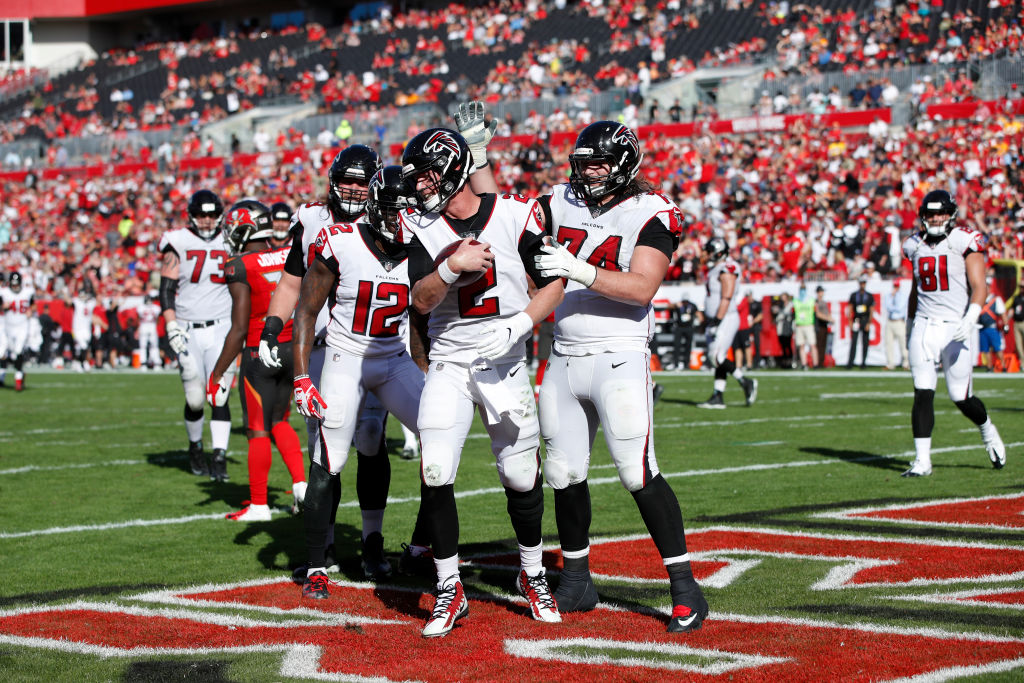 The Atlanta Falcons are valuable, but not the most valuable team in the NFL