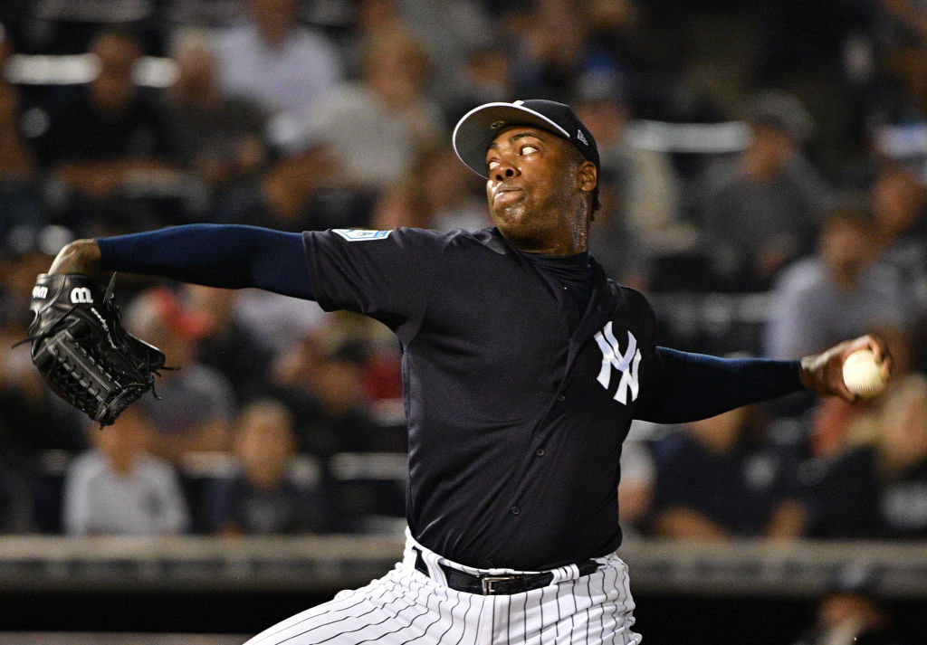 Aroldis Chapman is a lockdown closer for the Yankees, who have one of the best bullpens in baseball.