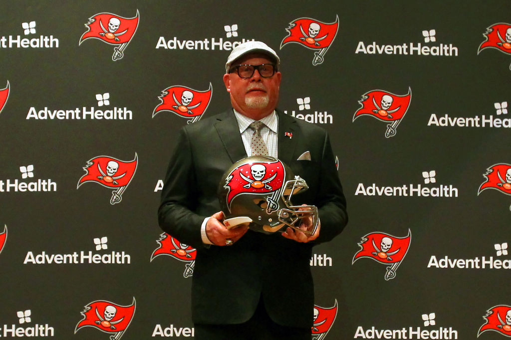 Tampa Bay Buccaneers coach Bruce Arians is all about building a big assistant coaching staff.