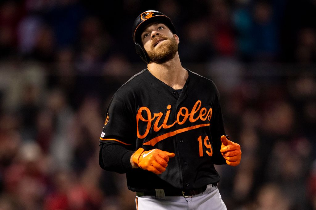 Chris Davis has one infamous record after struggling at the end of 2018 and start of 2019.