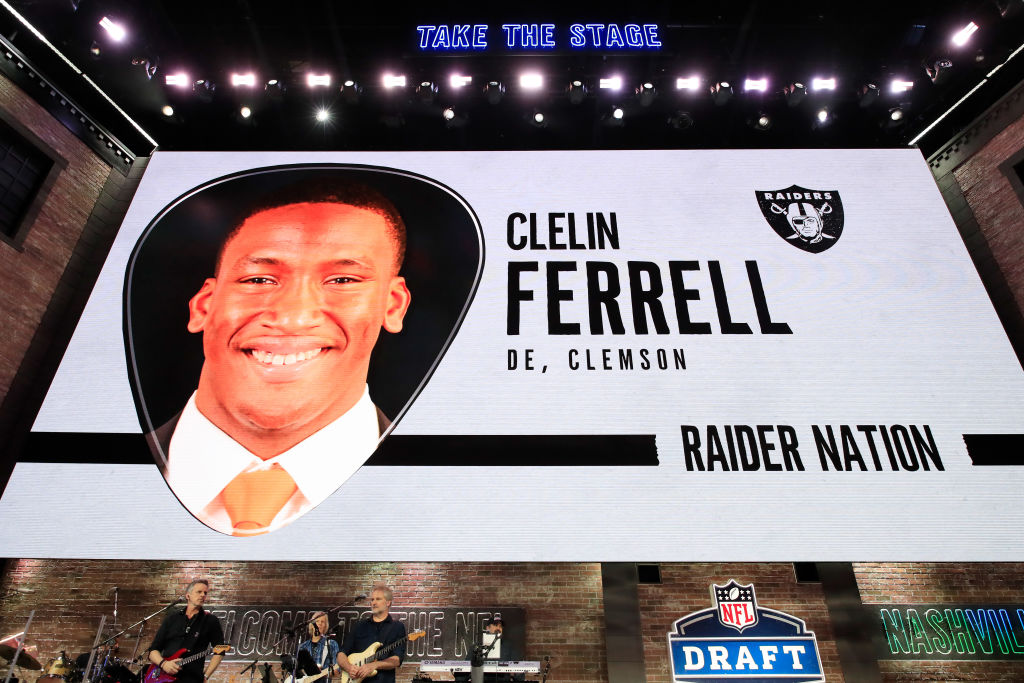 Clelin Ferrell was one of six Clemson players picked in the 2019 NFL Draft.