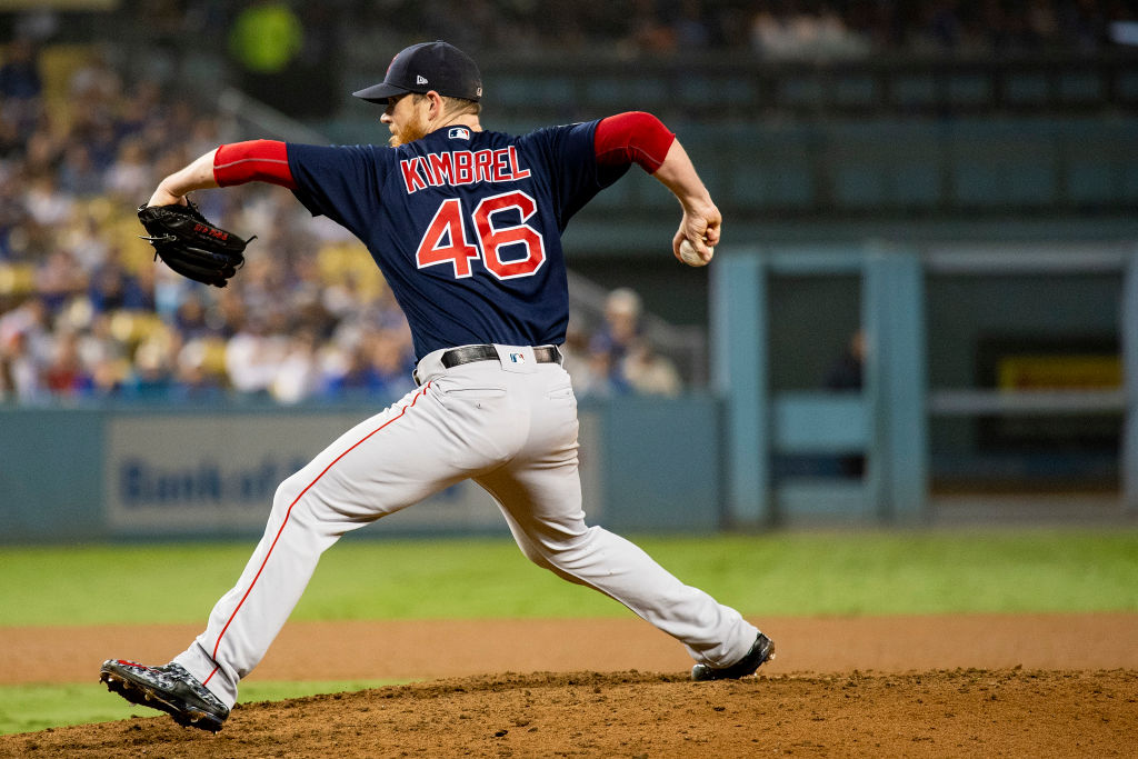Relief pitcher Criag Kimbrel is looking for a new team.