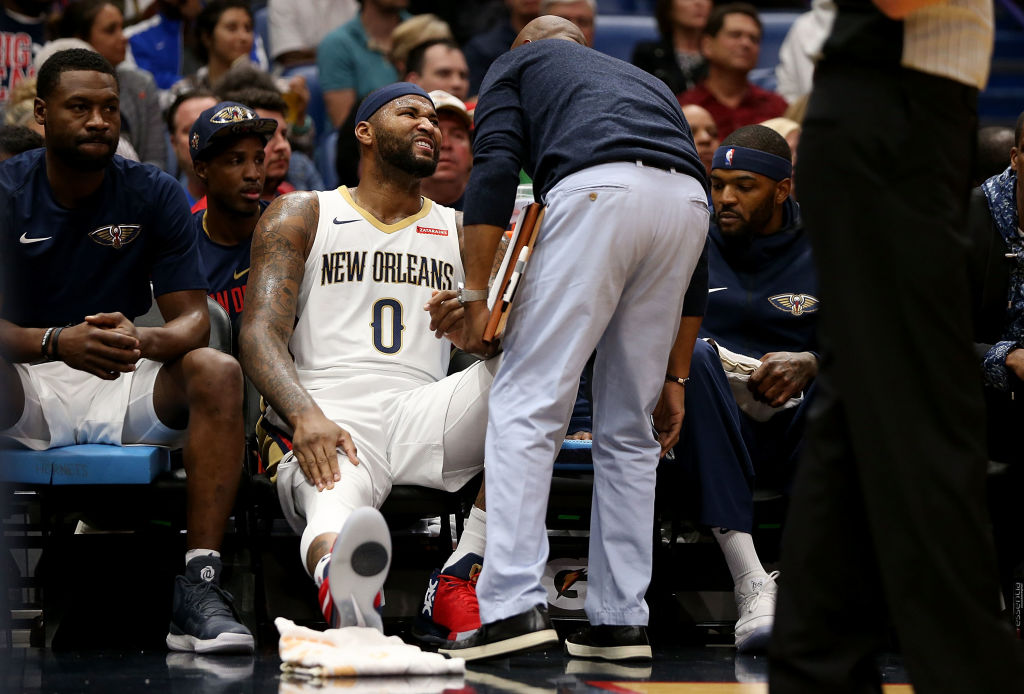 DeMarcus Cousins has had some tough injury luck during his NBA career.