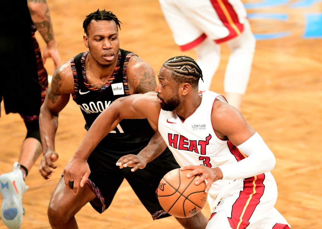 Dwyane Wade recorded a triple-double during his final NBA game in 2019.