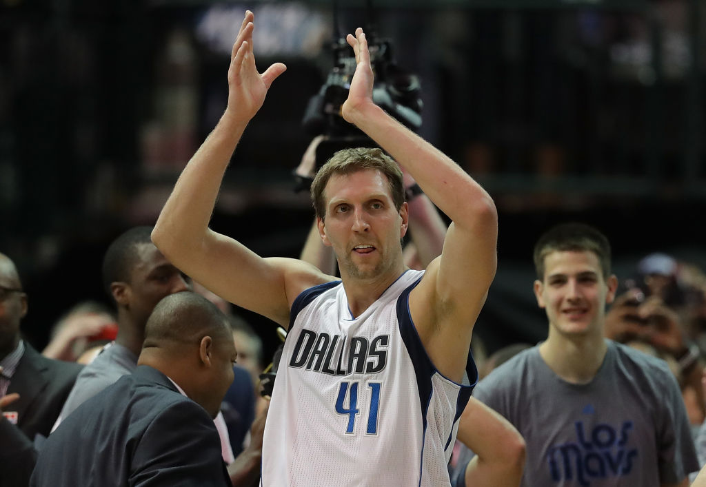 Dirk Nowitzki goes down as one of the best international players in NBA history.