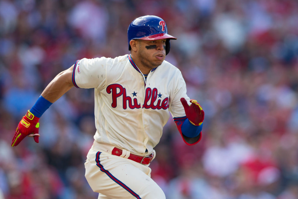 Cesar Hernandez and the Phillies are one of the fastest baseball teams around.