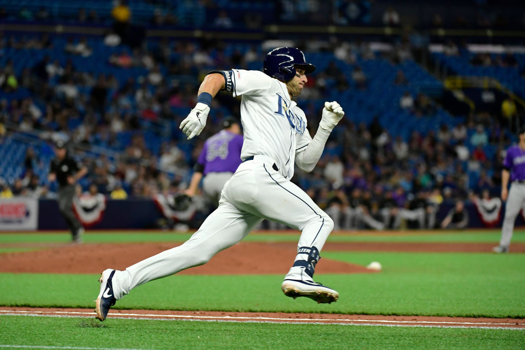 Kevin Kiermaier and the Rays are one of the fastest baseball teams around.