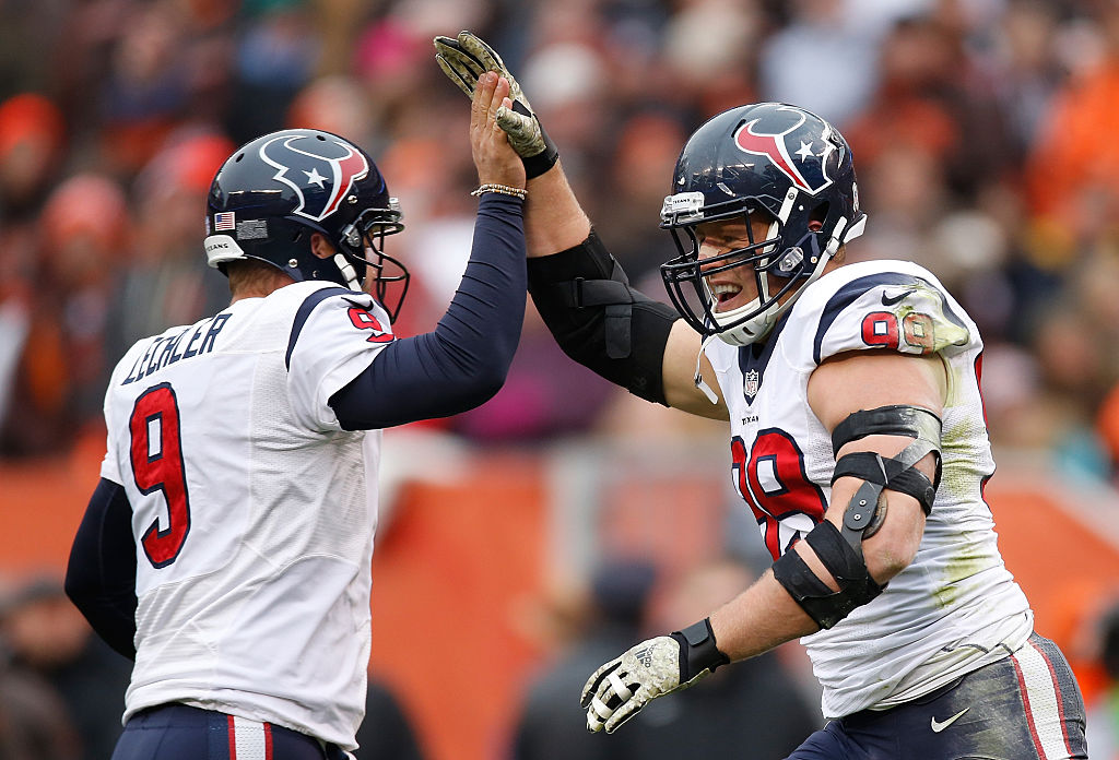 J.J. Watt says Shane Lechler is a surefire Hall of Famer