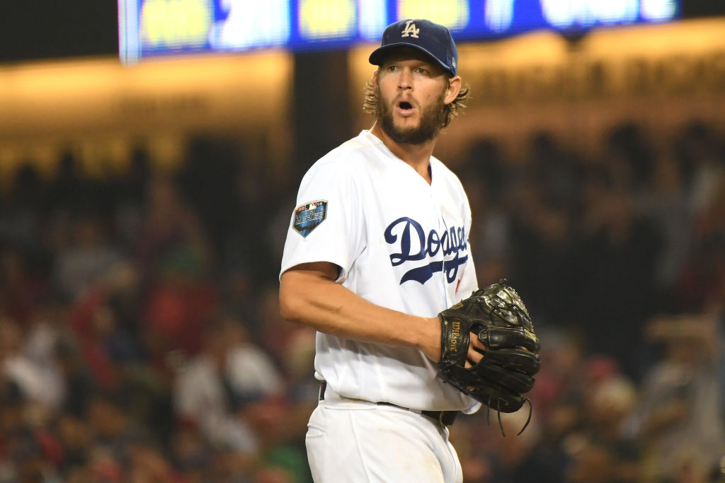 Dodgers' pitcher Clayton Kershaw makes per start than the Yankees' Aaron Judge makes in a season.