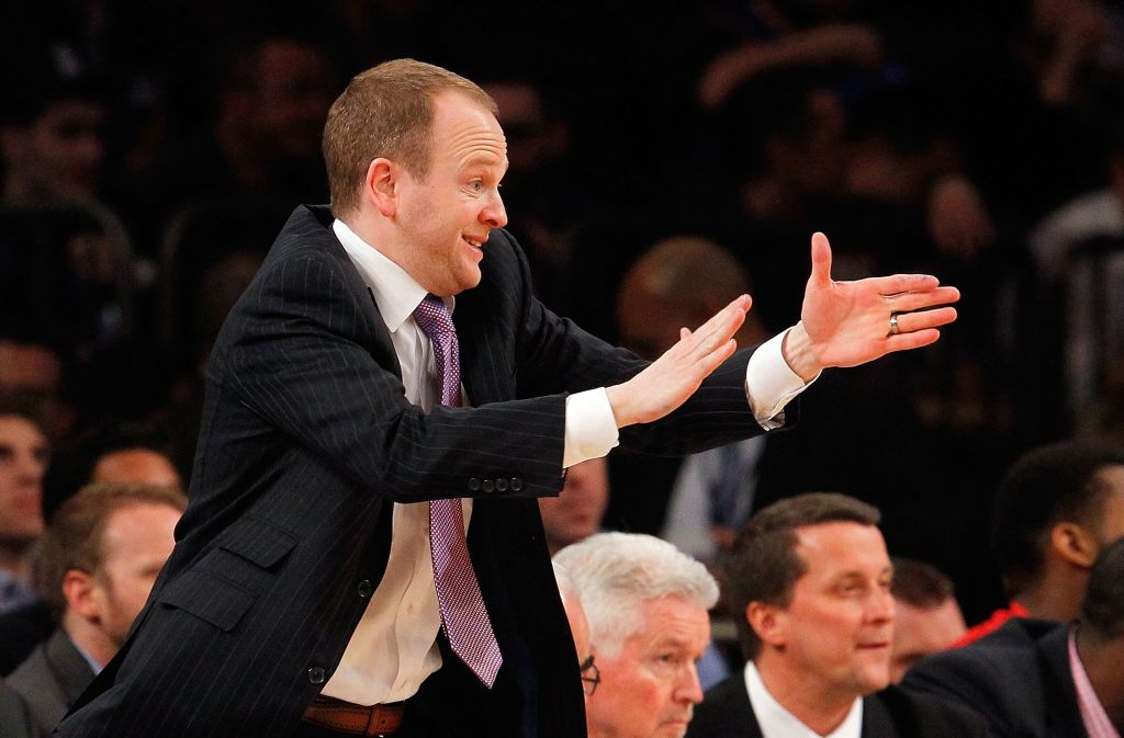 Lawrence Frank could be a candidate if the Los Angeles Lakers decide to replace Magic Johnson.