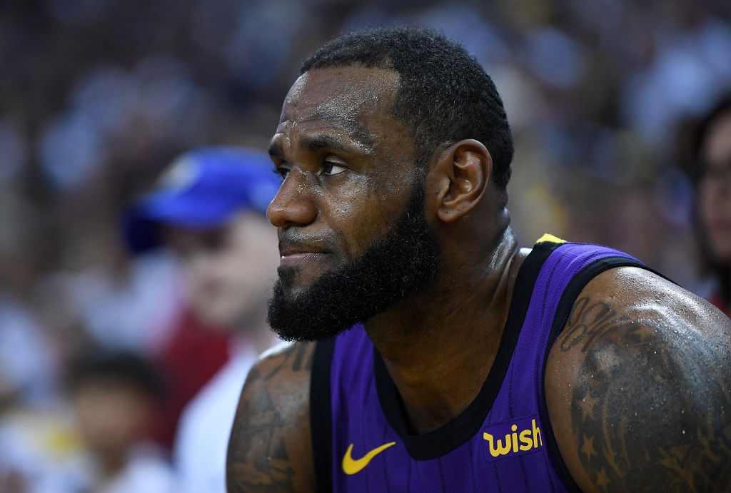 LeBron James will sit out the home stretch of the 2018-19 season