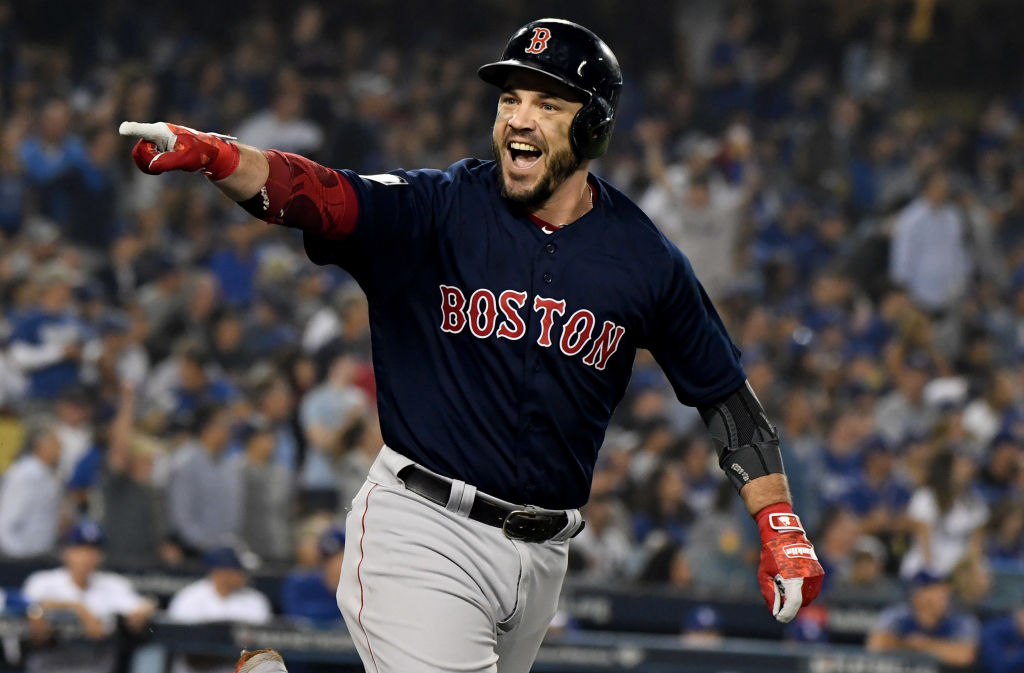 Steve Pearce is one of the best MLB players 35 or older.