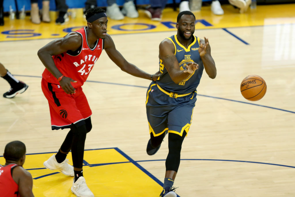 Draymond Green is one of the most unselfish NBA players who love passing the ball.