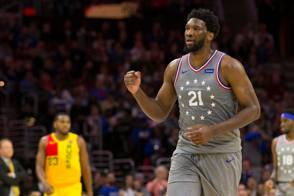 Joel Embiid is one of the big men who might decide who wins the NBA Finals