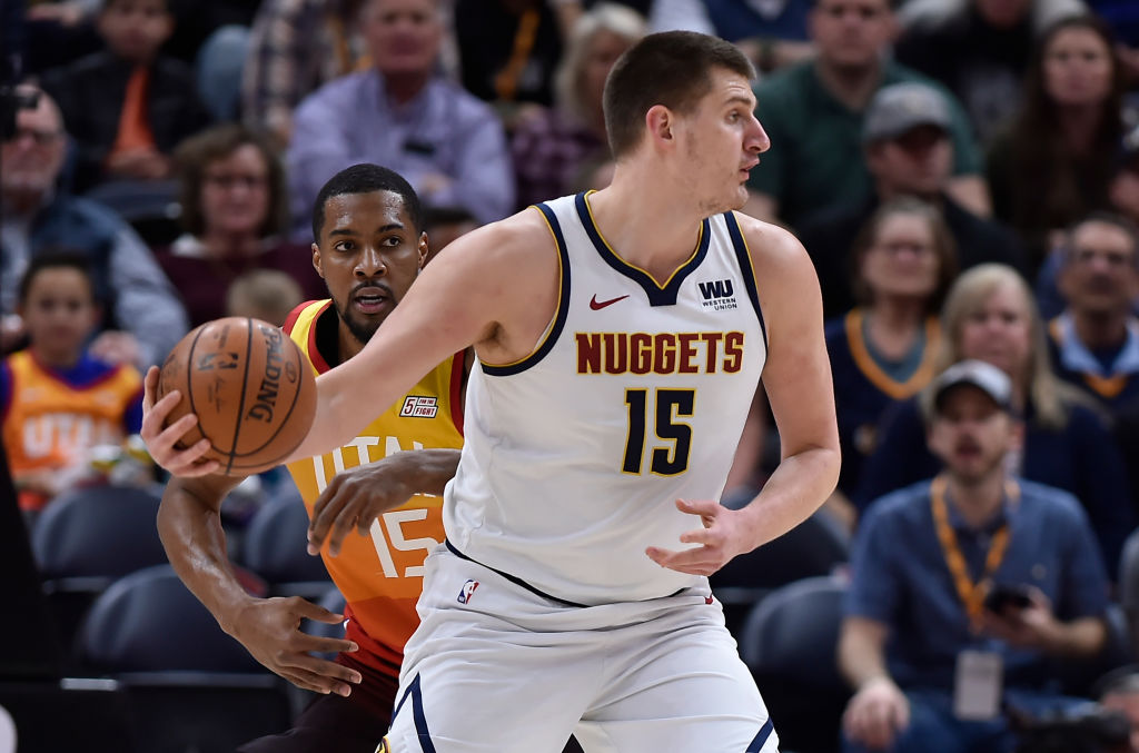 Nikola Joikic is one of the big men who might decide who wins the NBA title