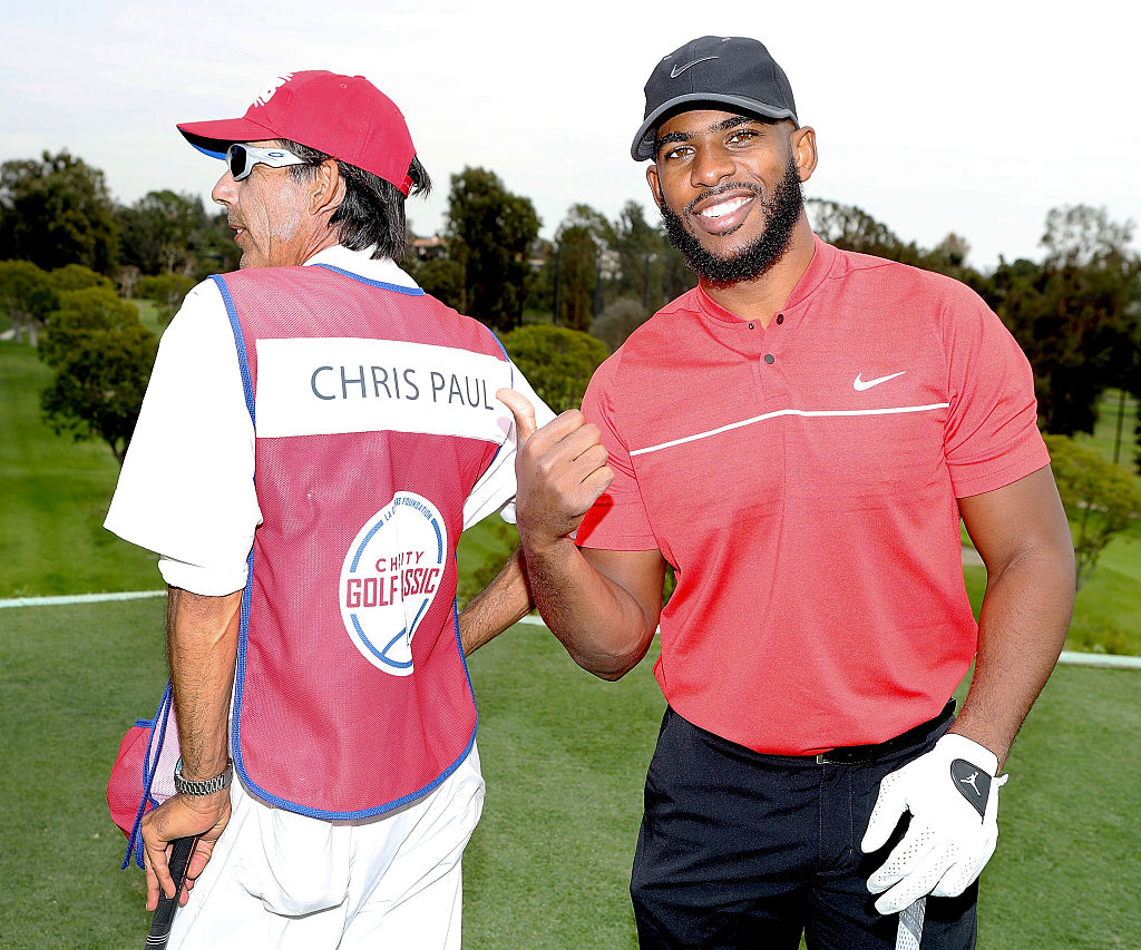 As far as NBA players go, Chris Paul is one of the best golfers around.
