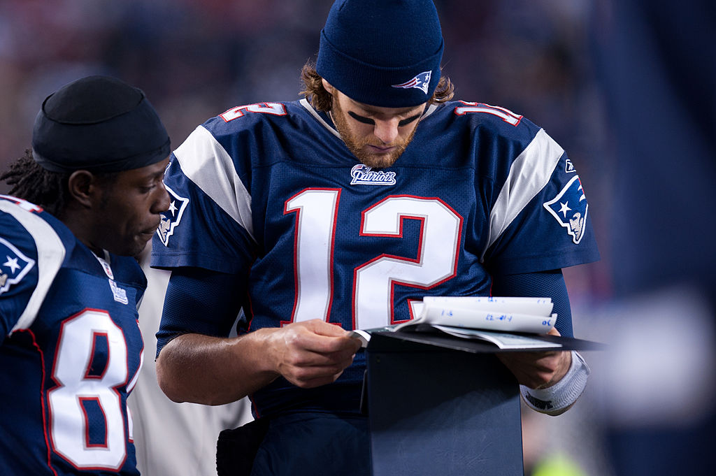 A huge and complex playbook is one of the reasons Tom Brady and the New England Patriots stay on top in the NFL.