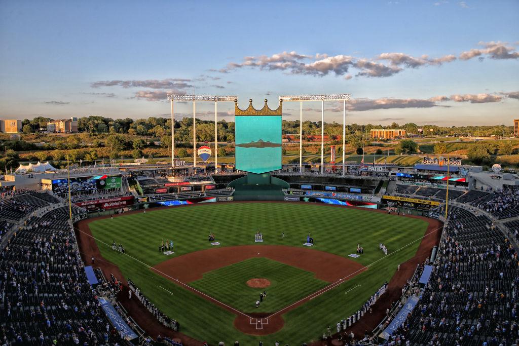 Kansas City's Kauffman Stadium is one of the oldest stadiums in baseball.