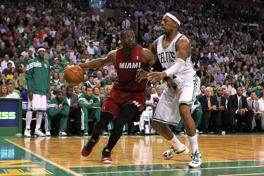 What Paul Pierce said about his career compared to Dwyane Wade left fans scratching their heads.