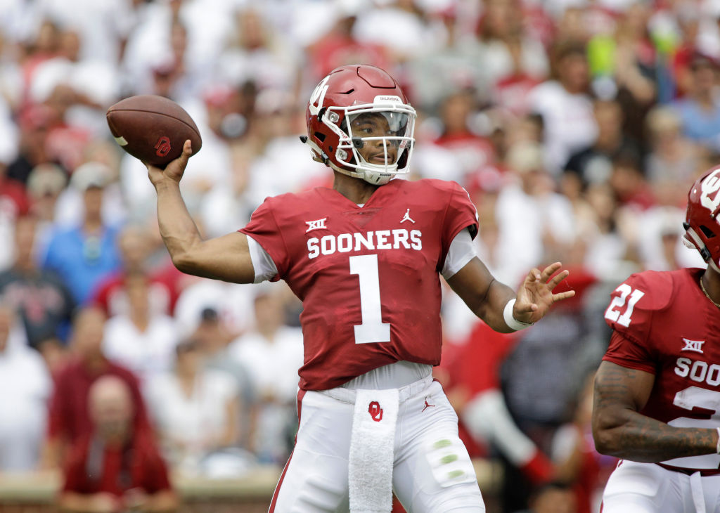 If he's not No. 1, Kyler Murray will be among the players who will go in the first round of the 2019 NFL draft.