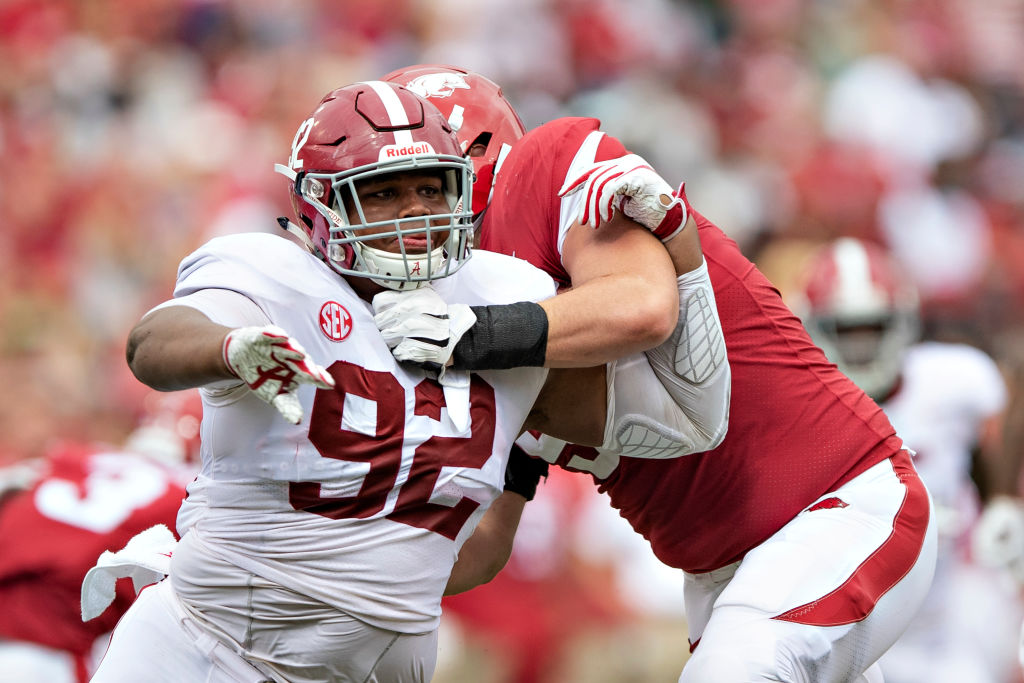 Alabama's Quinnen Williams will be among the players who will go in the first round of the 2019 NFL draft.