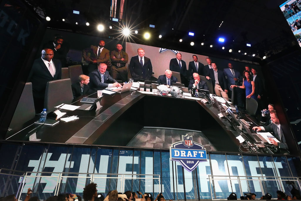 The teams picking in the top 10 of the 2019 NFL draft will have war rooms that look a lot like the Cowboys' room in 2018.
