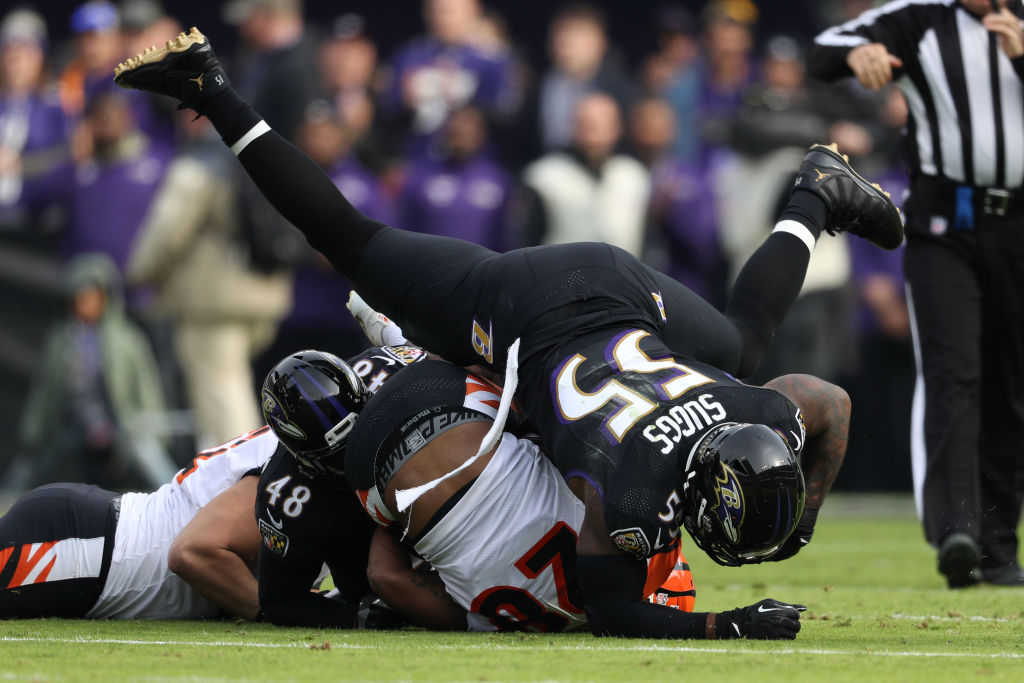 Terrell Suggs left the Baltimore Ravens after well more than a decade with the team