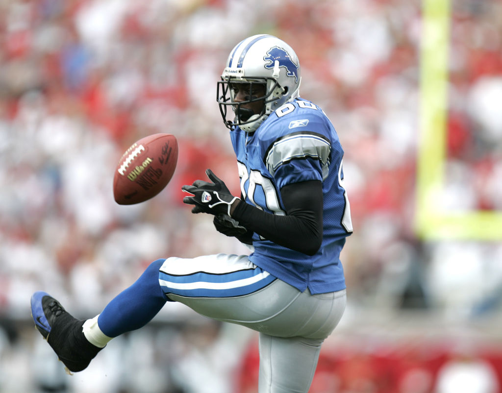 Charles Rogers is one of the worst wide receiver draft picks ever