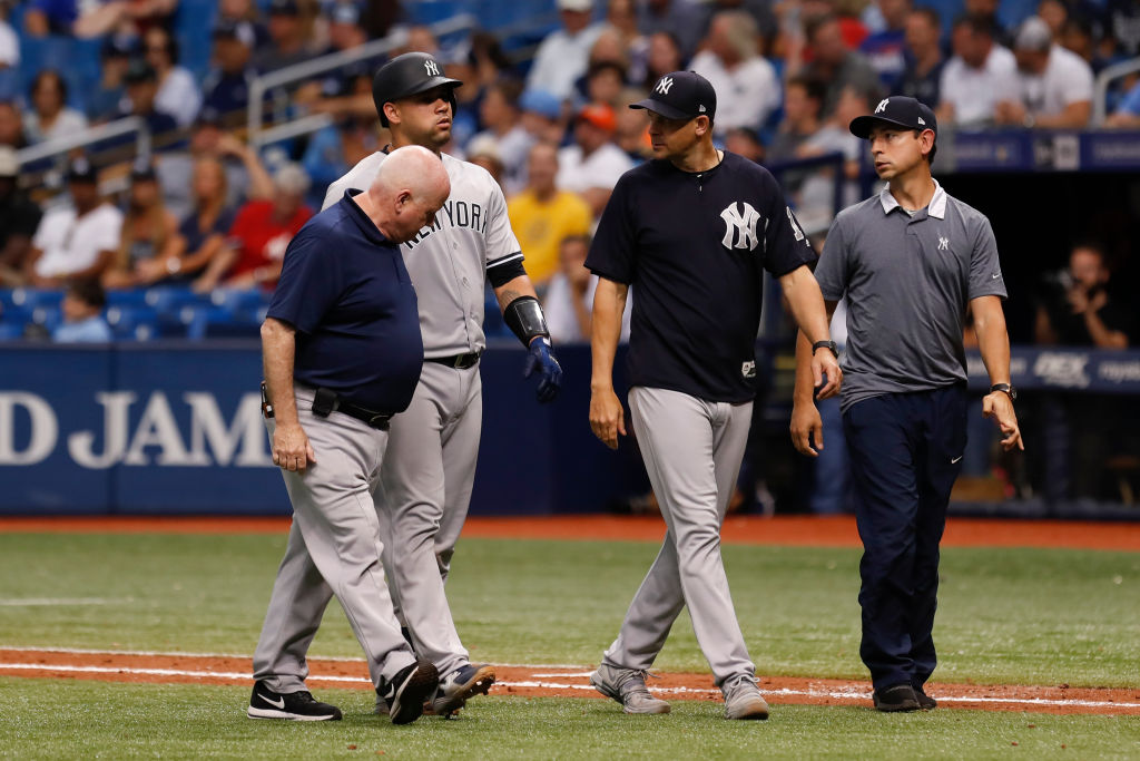 A litany of injuries is one of the big problems for the New York Yankees at the start of the 2019 season