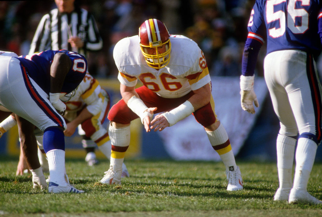 Joe Jacoby is one of the best undrafted NFL players ever