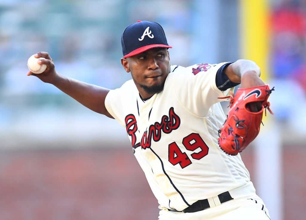 Julio Teheran is one of the few active MLB pitchers with a shot at 3,000 strikeouts.