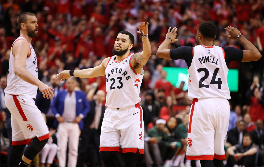 Fred VanVleet is a key bench player for the Toronto Raptors as they face the Golden State Warriors in the 2019 NBA Finals.