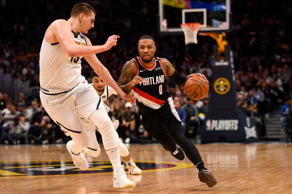 Nikola Jokic and the Nuggets against Damian Lillard and the Trail Blazers could be a great second-round series in the 2019 NBA playoffs.