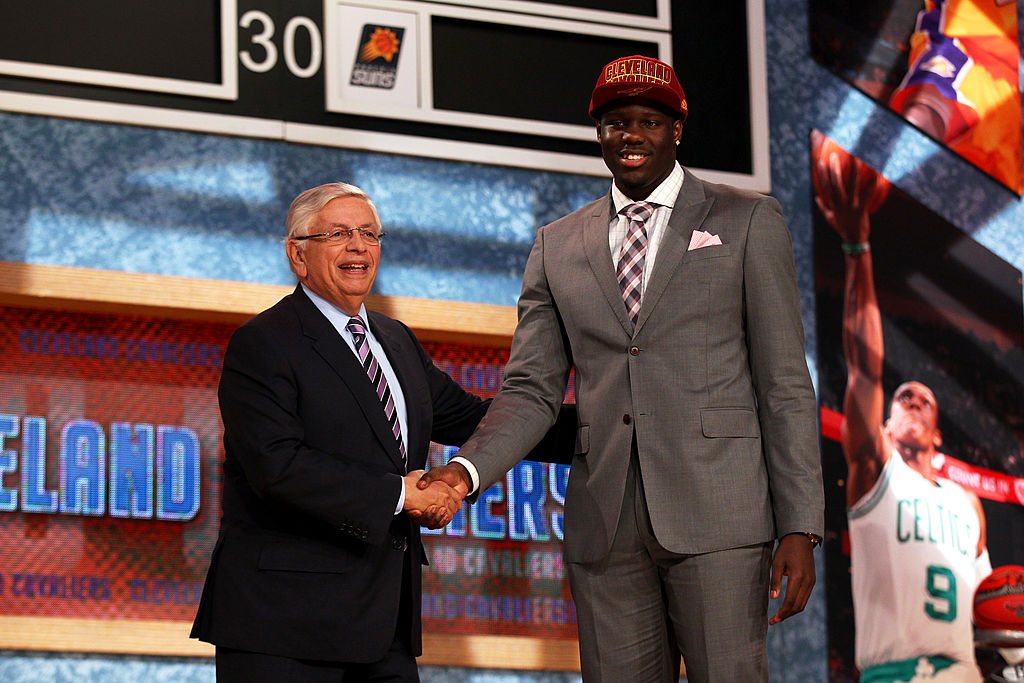 Draft bust Anthony Bennett went No. 1 overall the same year Giannis Antetokounmpo was drafted.
