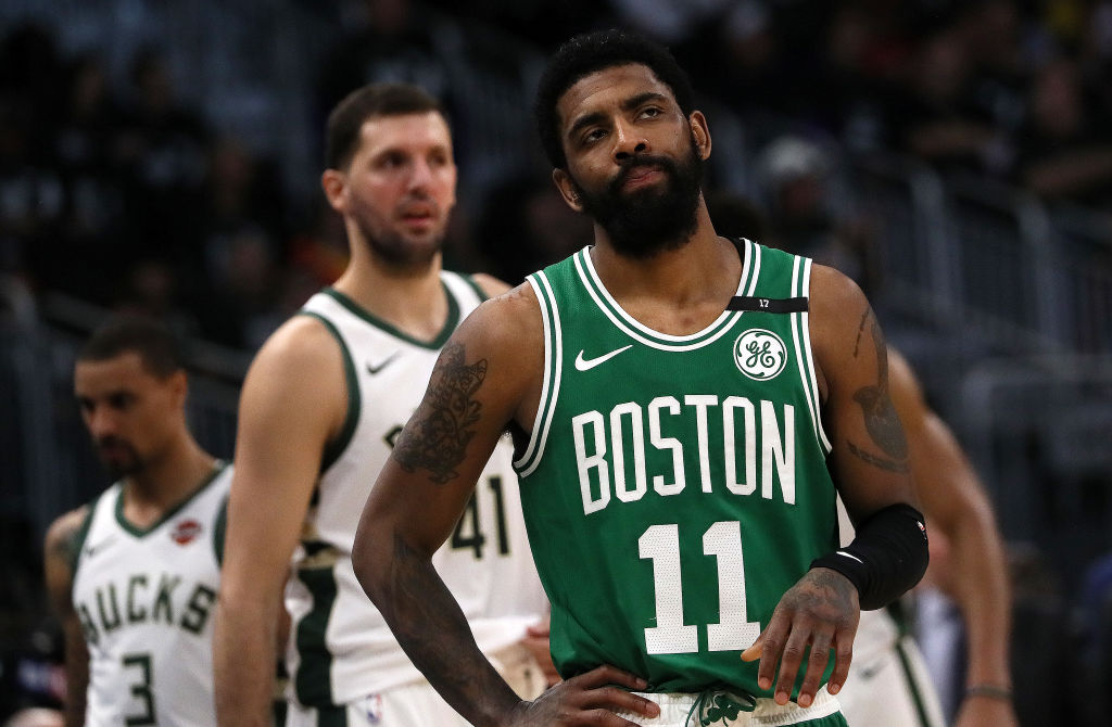 Which team has the best odds to land 2019 free agent Kyrie Irving?
