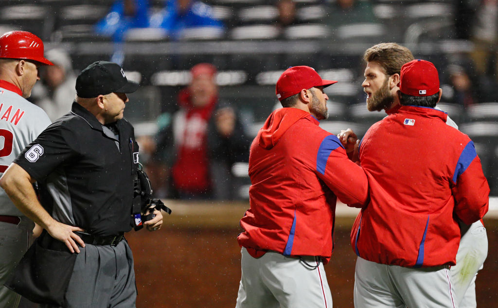 Bryce Harper might already be causing problems in the Philadelphia Phillies clubhouse.