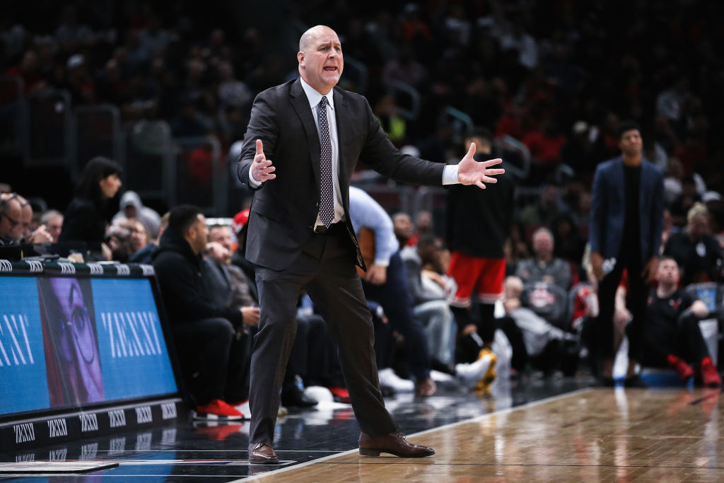 Naming Jim Boylen the head coach was a questionable move by the Chicago Bulls.