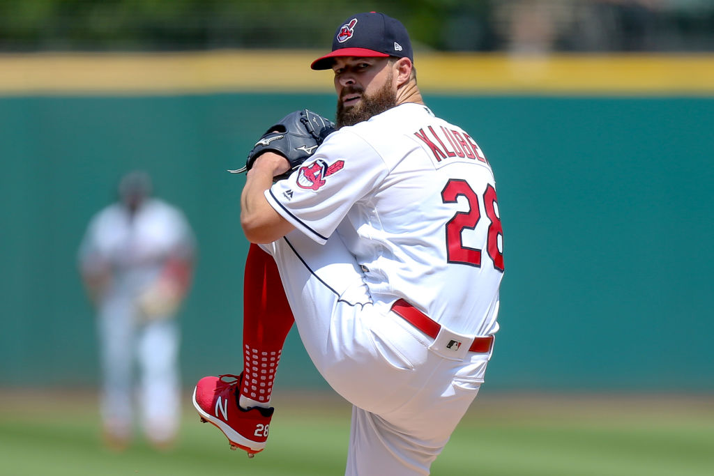 The injury to Corey Kluber is making life tough on Cleveland.