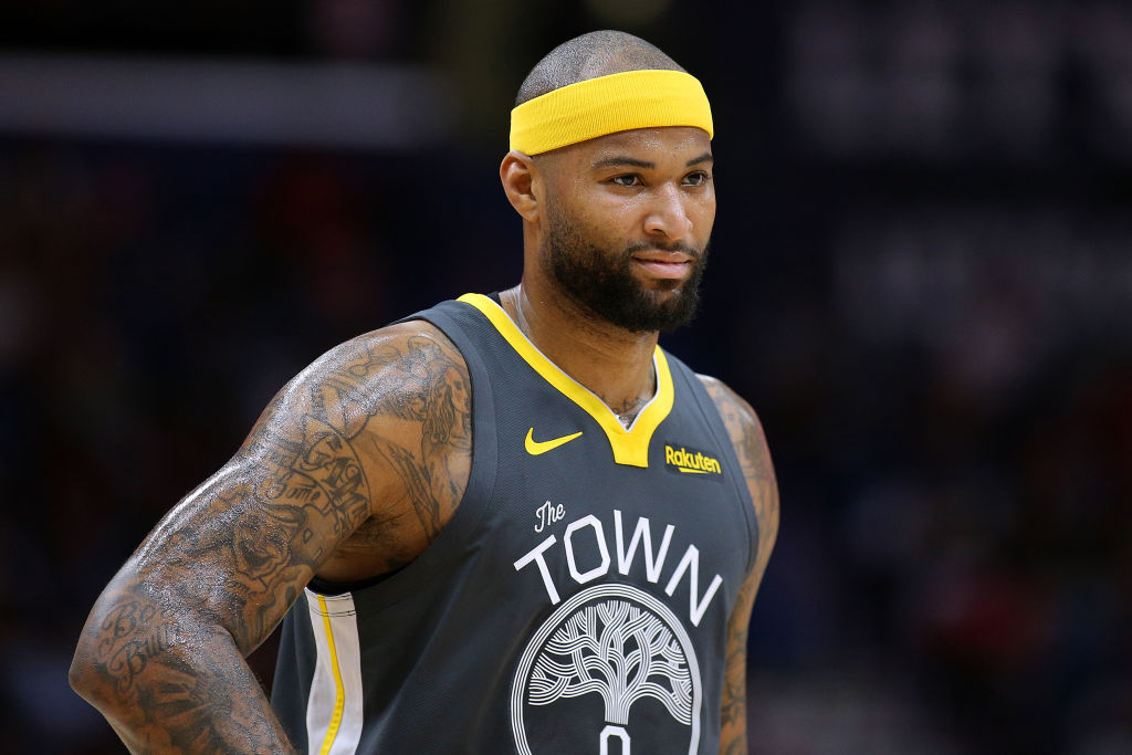 4b93191b794 NBA  Did His leg Injury Cost DeMarcus Cousins More than a Playoff Run with  the Warriors