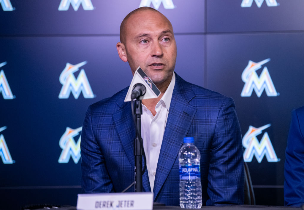 Not everything has gone wrong with Derek Jeter in charge of the Miami Marlins