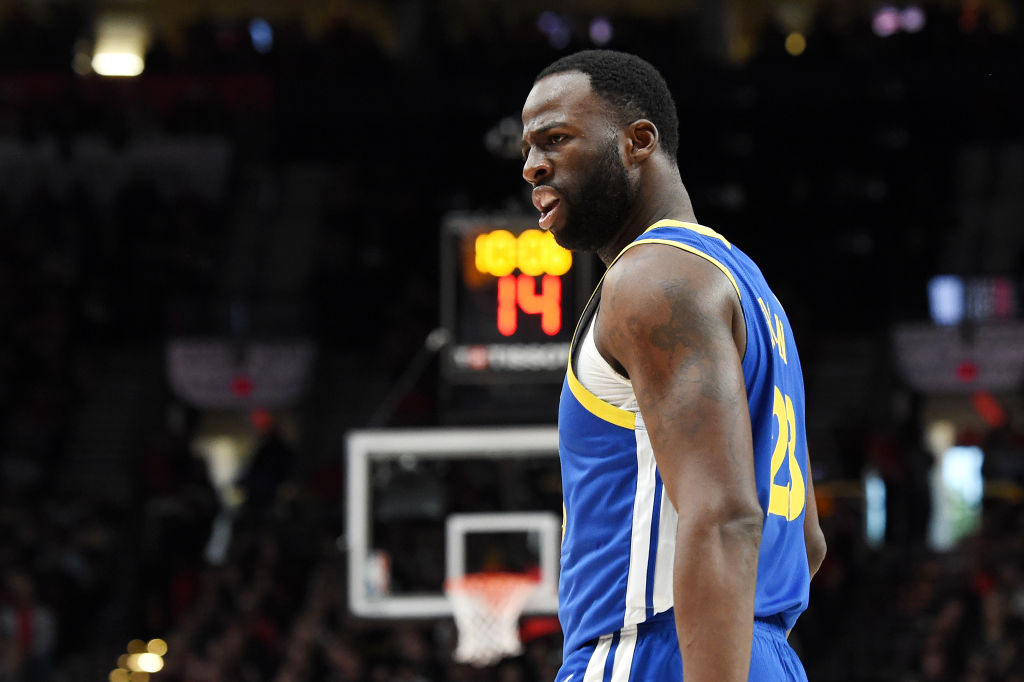 One Draymond Green postseason stat puts him alongside NBA legends.