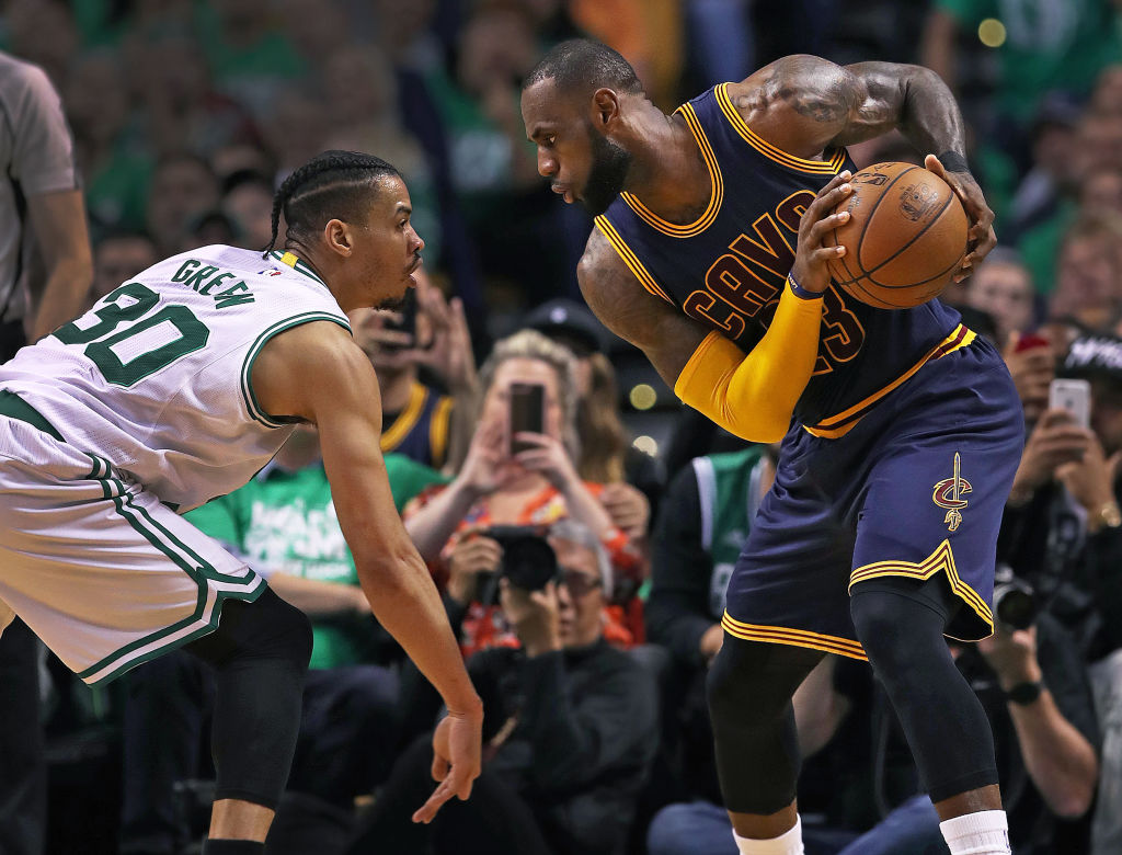 LeBron James and the Cavaliers registered one of the biggest blowout wins in NBA playoff history.