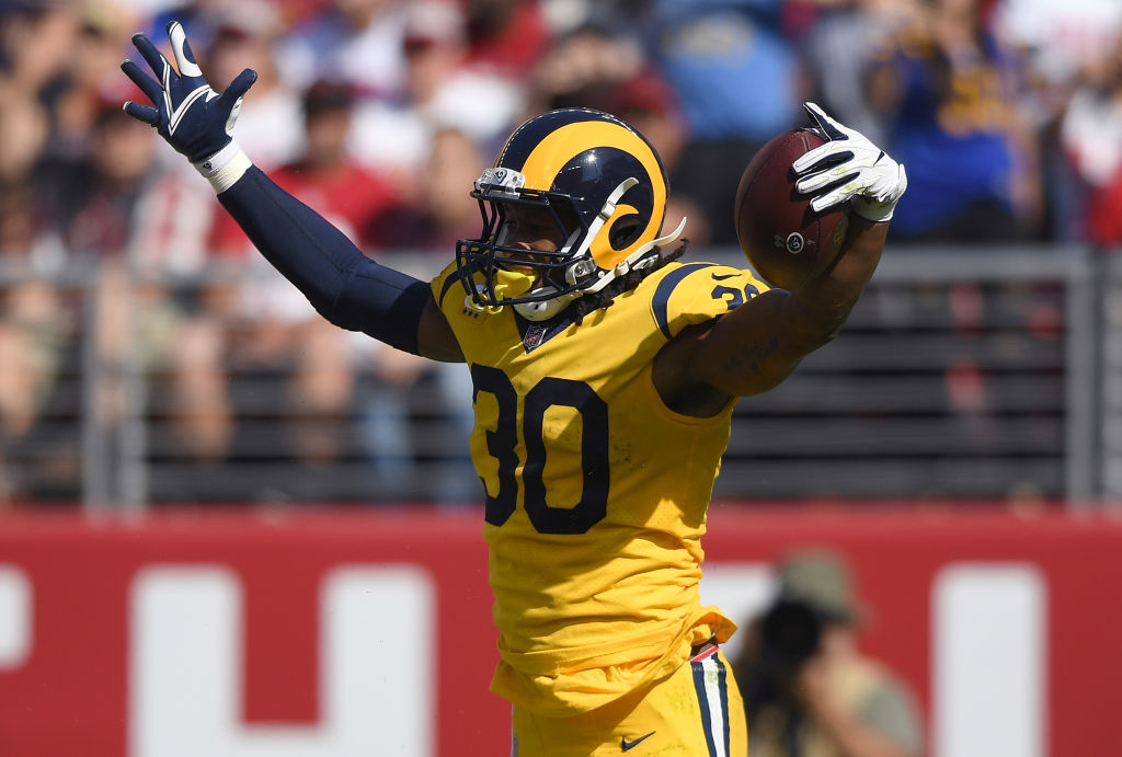 Todd Gurley is the Rams' best running back, but the team has insurance in case he's lost to injury.