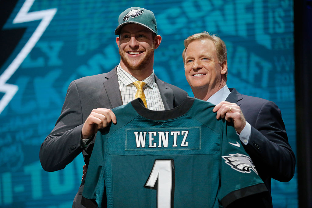 Carson Wentz is one of a handful of players taken in the 2016 NFL who had their fifth year options picked up.