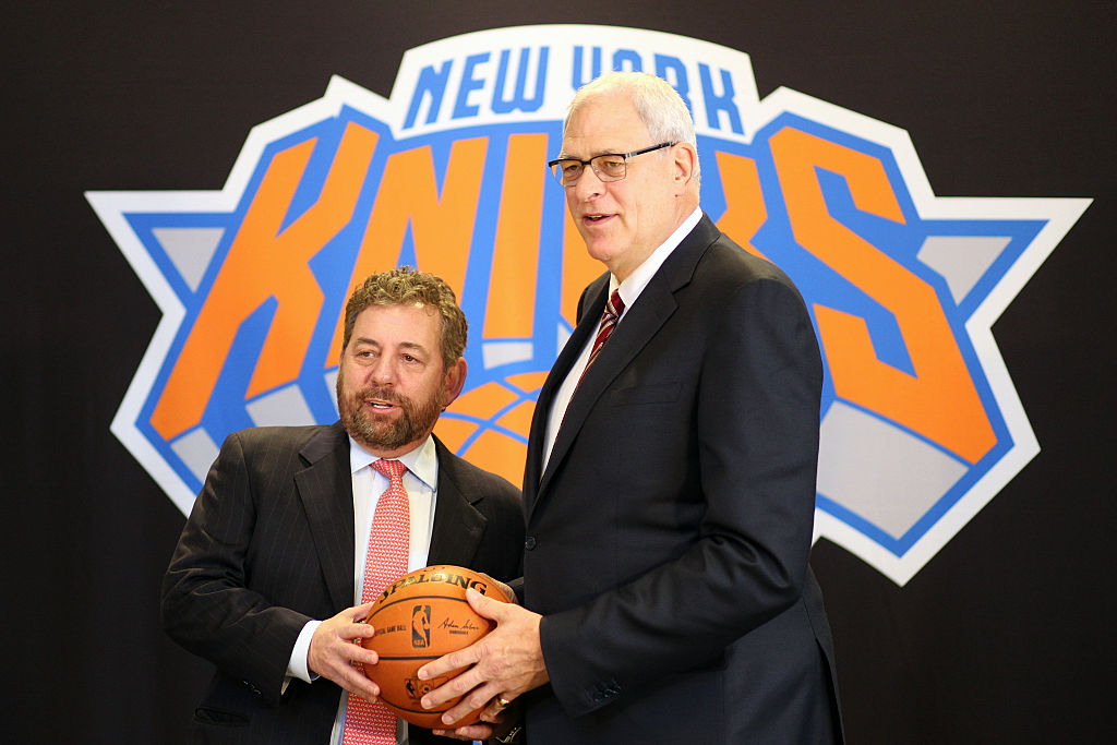 James Dolan getting sued has nothing to do with his disastrous stint leading the New York Knicks.