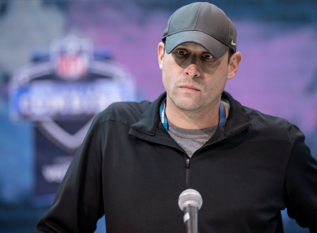 New York Jets head coach Adam Gase won his power struggle with former general manager Mike Maccagnan.