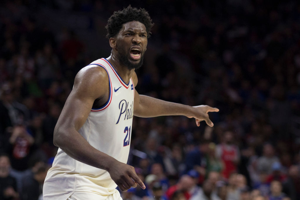 Joel Embiid was emotional over how the Philadelphia 76ers season ended, and then he found the silver lining.